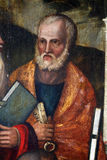 Francesco Bissolo: Święty Peter obraz royalty free