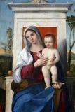 Francesco Bissolo: Madonna Z dzieckiem obraz royalty free