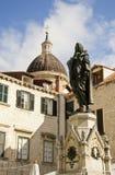 Francesco Giovanni Gondola Statue Stock Photo