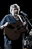 Francesco Guccini milan concert december 2010 Royalty Free Stock Photography