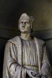 Francesco Guicciardini statue Stock Photos