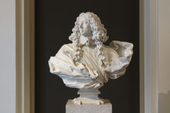 Francesco I d`Este portrait, Gian Lorenzo Bernini, Estense Gallery, Modena, Italy Stock Photo