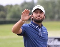 Francesco Molinari at The French golf Open 2013 Royalty Free Stock Photo