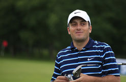 Francesco Molinari at the French Open 2012. LE GOLF NATIONAL, PARIS, FRANCE, JULY 05 Royalty Free Stock Photo
