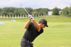 Francesco Molinari at the French Open 2012. LE GOLF NATIONAL, PARIS, FRANCE, JULY 05 Stock Photos