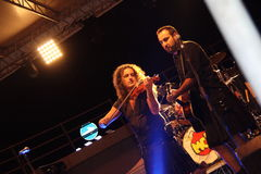 Francesco Moneti und Luca Serio Bertolini von MCR Stockbild