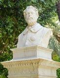 Francesco Riso monument, Palermo stock images