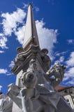 Francesco Robba fontanna Zdjęcie Royalty Free