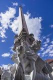 Francesco Robba-fontein Stock Fotografie