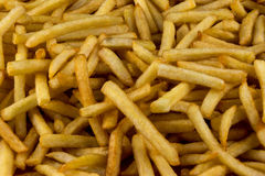 Francese Fried Potatoes Close Up View Fotografia Stock Libera da Diritti