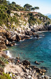 Francesi beach, mongerbino, Sicily Stock Image