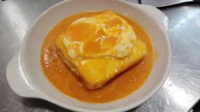 Francesinha Royalty Free Stock Images