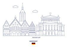 Francfort Alemania Foto de archivo