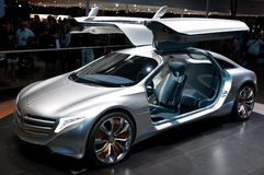 FRANCFORT, ALLEMAGNE - 25 SEPTEMBRE : Benz F125 de Mercedes Images stock