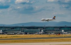 FRANCFORT, ALLEMAGNE : LE 23 JUIN 2017 : Airbus A319 LUFTHANSA Images stock