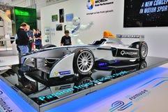 FRANCFORT - DE SEPT. EL 14: Renault Formula E presentado como premie del mundo Imágenes de archivo libres de regalías