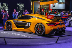 FRANCFORT - SEPT. DE 2015: Renault Sport R S el concepto 01 presentó a Imagen de archivo
