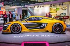 FRANCFORT - SEPT. DE 2015: Renault Sport R S el concepto 01 presentó a Foto de archivo libre de regalías