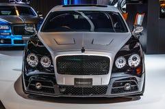 FRANCFORT - SEPTEMBRE 2015 : Mansory Bentley Continental GTC présent photo stock
