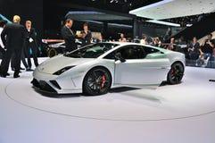 FRANCFORT - SEPTEMBRE 14 : Presente de Lamborghini Gallardo Squadra Corse Images stock