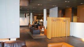 FRANCFORT - SEPTEMBRE 2014 : Terminal de première classe Photographie stock libre de droits