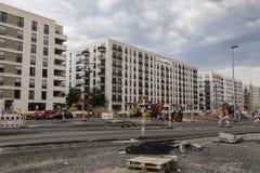 Francfort sur Main, Allemagne, Gallus de secteur Construction du Re Photo libre de droits