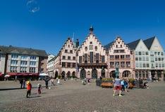 FRANCFORT SUR MAIN - 20 JUILLET : vieille ville - stadt d'alte Photographie stock