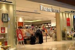 Francfrancboutique in Hong Kong Francfranc is een Japanse huis het leveren opslag die onder opereren Royalty-vrije Stock Afbeelding