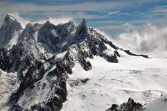 Franch Alpen Lizenzfreie Stockfotos