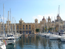 Franch Creak, Senglea Royalty Free Stock Images