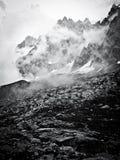 FRANCH góry W ALPS Zdjęcie Royalty Free