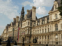 Franch palace Royalty Free Stock Photo