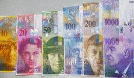 Franchi svizzeri Fotografie Stock