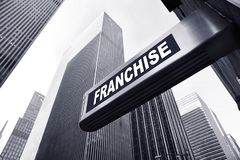 Franchise. Background for an franchise concept royalty free stock images