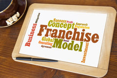 Franchise Stock Image