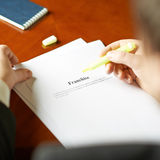 Franchise definition composition Royalty Free Stock Photos