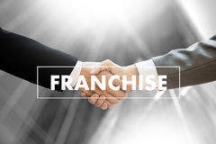 FRANCHISE  Marketing Branding Retail and Business Work Mission C Royalty Free Stock Photo
