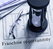 Franchise opportunity Royalty Free Stock Image