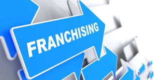 Franchising. Business Background. Stock Photos