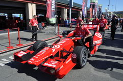 Franchitti team Stock Image