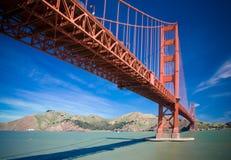 franci bridge brama złoty San Zdjęcie Royalty Free