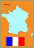 Francia Imagen de archivo libre de regalías