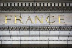 francia Imágenes de archivo libres de regalías