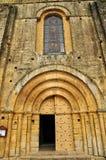 Francia, abadía de Cadouin en Perigord Imagen de archivo libre de regalías