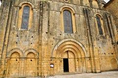 Francia, abadía de Cadouin en Perigord Foto de archivo libre de regalías