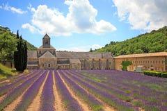 Francia - Abbaye de Senanque Imágenes de archivo libres de regalías