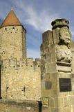 Francia. Carcasona. Fotos de archivo libres de regalías