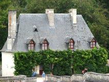 francia Casa de campo de criados en Shenonso Imágenes de archivo libres de regalías