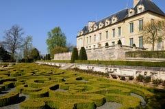 Francia, castillo del sur Oise de Auvers Foto de archivo libre de regalías