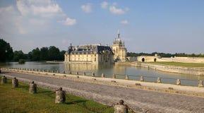 Francia: castillo francés de Chantilly (Conde-museo) Foto de archivo